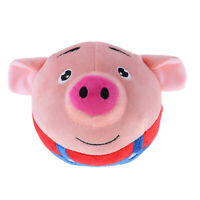 Battery Operated Jumping Singing Pig Plush Doll for Baby Toddlers Toys Red