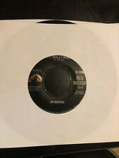 """JIM REEVES 45rpm VINYL """"Is It Really Over"""" & """"Rosa Rio"""" RCA VICTOR"""