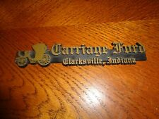 1968,1969,1970,1972 ford galaxie mustang torino dealer plate carriage ford