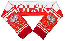 Polska Poland National Team Scarf Polish Country Pride Banner