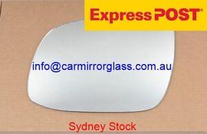 LEFT PASSENGER SIDE MIRROR GLASS FOR KIA RIO 2009-2011 (facelift)