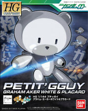 Gundam HG Petit'Gguy 00 Graham Aker White & Placard HGPG Model Kit