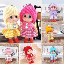 2 PCSTéléphone Décor Peluche Interactif Bébé Dolls jouets Mini Poupée pour fille