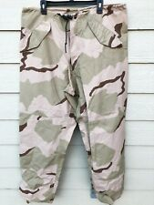 USGI ECWCS GORE-TEX COLD WEATHER DESERT CAMOUFALGE PANTS - LARGE LONG