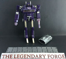 Transformers G1 Shockwave Vintage figure 100% complete Battery cover and Working
