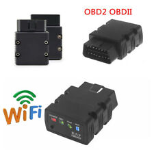 12V Multi-function WiFi OBD2 II Auto Car Diagnostic Scanner for iPhone Android
