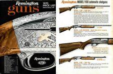 Remington 1970 Guns Price List