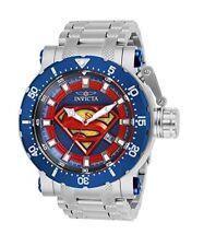Invicta 26823 DC Comics Superman Coalition Forces Automatic Limited Edition 52MM