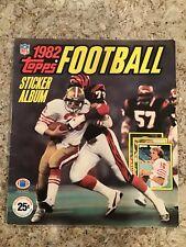 1982 Topps Football Sticker Album - Complete 288 stickers