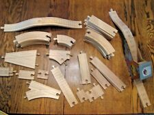 Wooden Track for Thomas & Friends Trains - Lot of 40+ Pieces (dk31)