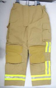 NEW Cosalt Fire Service Fighter Fireman Hi Vis Waterproof Reflective Trousers D2