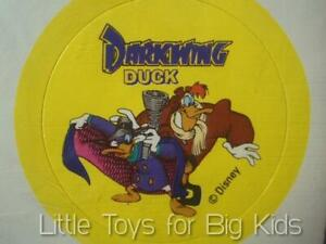 SEALED Vintage 1993 Disney DARKWING DUCK & LAUNCHPAD SUPERSHOOTER & Stickers PUR