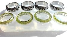 Clear Unisex Silicone mold,Mantra ring,faceted ring. Free USA Shipping! (O-29)