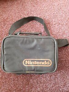Official Nintendo Gameboy Black Travel Carry Case/Bag DMG-01 Game Boy Pocket