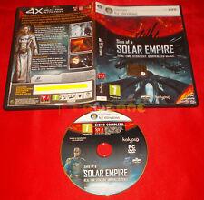 SINS OF A SOLAR EMPIRE PC Versione Italiana Editoriale ○ USATO - E4