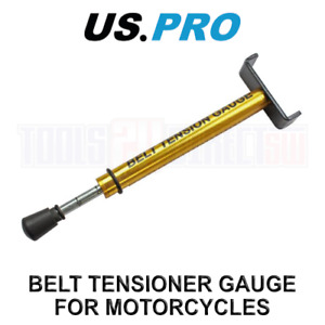 US PRO Tools Belt Tensioner Gauge Tool For Motorcycles, Motorbikes 6827