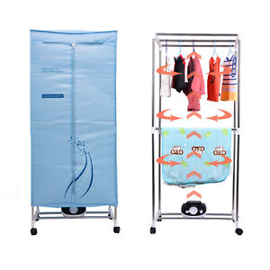 Concise Home Electric Clothes Dryer 1000W Large Capacity 15kg Double layer