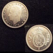 *GUTSE* 5 PESETAS 1975*77, PROOF.