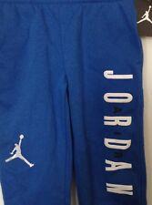 BOYS NWT  MICHAEL JORDAN  SWEAT PANTS SIZE 4 W/POCKETS  $48 BLUE