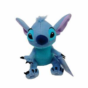 Disney Stitch Movie Lilo & Stitch Blue Alien Plush Soft Stuffed Toy 18cm Tags