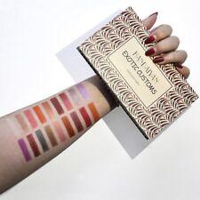 18colors Eyeshadow Palette Eye Makeup Matte Mermaid Pigment Pressed Cosmetic Pink