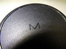 "Rear ""M"" Lens Cap MC MD vintage Rokkor Celtic Minolta lenses"