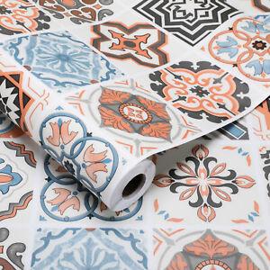 Fliesen Bodenaufkleber Selbstklebend Badezimmer Küche Wand Wasserdicht PVC DHL