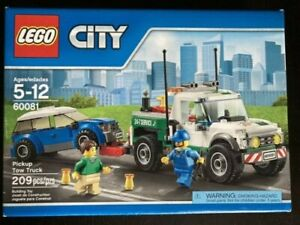 LEGO City Pickup Tow Truck 60081 New Factory Sealed Retired