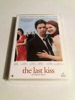 """DVD """"THE LAST KISS (EL ULTIMO BESO)"""" COMO NUEVO TONY GOLDWYN ZACH BRAFF CASEY AF"""