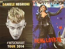 Daniele Negroni  /  Demi Lovato  _   A3 POSTER   _  Size  27,5 cm x 42 cm