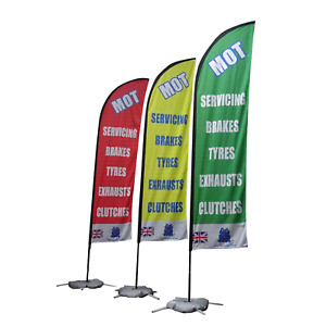 MOT Flags 320 x 60 cm  - The Most sold in United Kingdom -