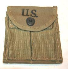 "WWII M1 Carbine Stock Pouch ,  "" Hamlin Canvas Good 1943 ""  New Orig. USGI"