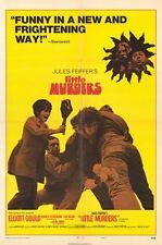 LITTLE MURDERS Movie POSTER 27x40 Elliott Gould Marcia Rodd Vincent Gardenia