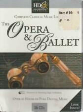 The Opera & Ballet: Complete Classical Music Library 16-Disc Set Music Audio Cd