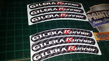 Gilera Runner Rim tape Wheel stickers EXCLUSIVE 50, 125. 172, 180 183 sp vx st E