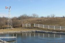 30 Ft Aluminum Windmill Pond Aerator, Aeration Hand Made in the USA