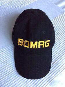 Genuine & Very Rare Bomag Baseball Cap Not JCB / Hamm / Caterpillar / Terex