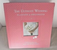 The Ultimate Wedding Planner & Organizer Binder Elizabeth Lluch Pink NO Tote Bag