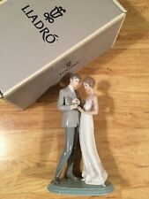 Lladro Be Mine Wedding Flowers In Tact 06597 Declaration Of Love Mint Condition
