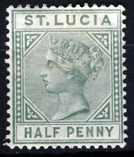 ST LUCIA QV 1883 ½d. Green Die I Wmk Crown CA SG 31 MINT