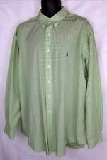 """Men's Ralph Lauren Polo 100% Cotton 18"""" x 36/37 Striped Long Sleeve Shirt"""