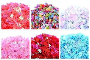 Lady-Muck1:950 Snowflake Sequins Christmas Confetti Scrapbooking CardMaking Nail