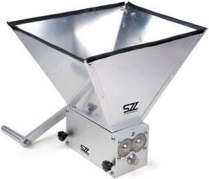 Premium Stainless Steel 3 Roller Geared |Grain Mill | Barley Crusher | Muncher