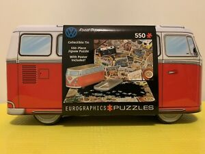 Volkswagen Collectible Tin 550pcs Jigsaw Puzzle By Eurographics 8551-5576