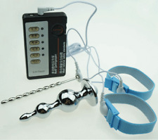 Electrosex Shock Male E-Stim Silicone Urethral Torpedo Plug Loops Therapy