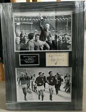 Bobby Moore England 1966 World Cup signed display framed