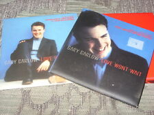 Gary Barlow: Love Wont Wait  CD1+CD2   2XCD Single + poster   NM