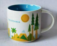 2015 STARBUCKS CALIFORNIA YAH YOU ARE HERE COLLECTION COFFEE MUG 14oz