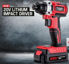 20V 1500mAh Lithium Cordless Impact Driver ID2 Charger Electric Screwdriver Tool