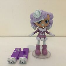 Shopkins Happy Places Lil Shoppie Doll- CRYSTAL SNOW w/ Exclusives